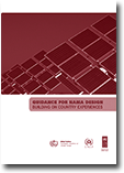 Guidance for NAMA design: Building on Country Experiences. Guidebook developed for United Nations Development Programme (UNDP)